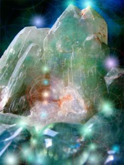 изображение кристалла